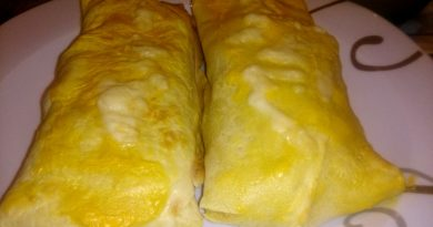 Polnjene palačinke iz pečice