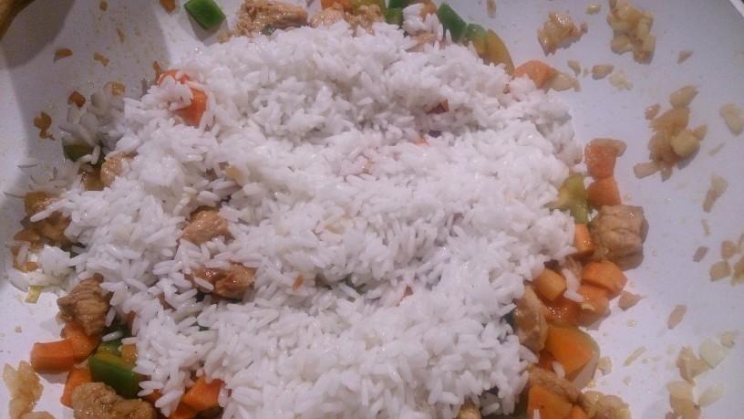 Prava domača rižota s piščancem