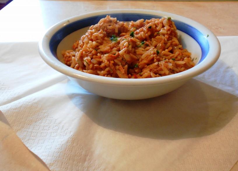 Riž s tuno