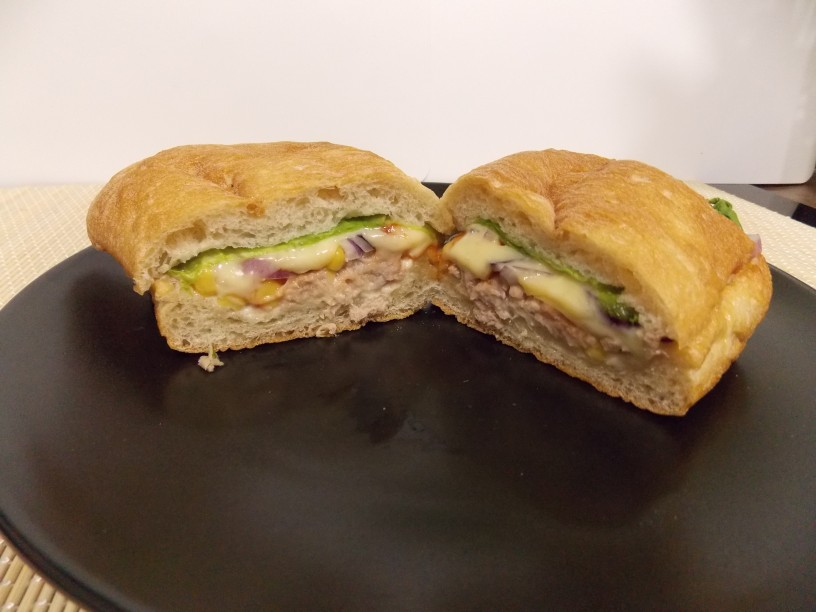 ciabatta sendvič s tuno1
