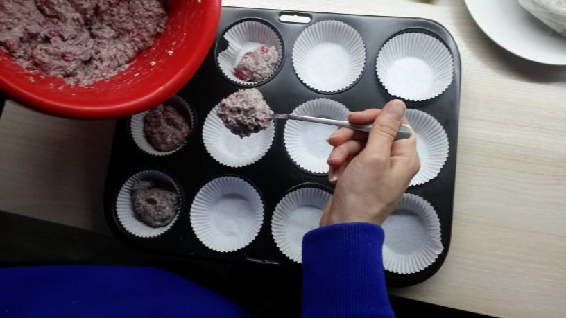 Nori malinovi muffini brez glutena