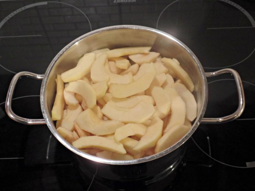 Jabolčna čežana na enostaven način