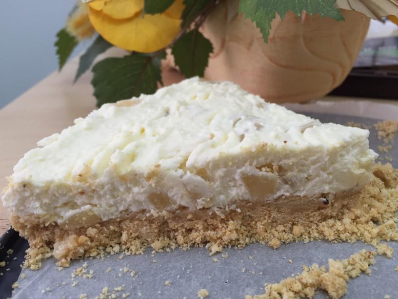 Skutin cheesecake s hruškami (29)