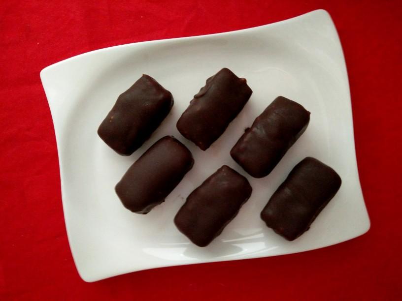 Veganske kokosove čokoladice