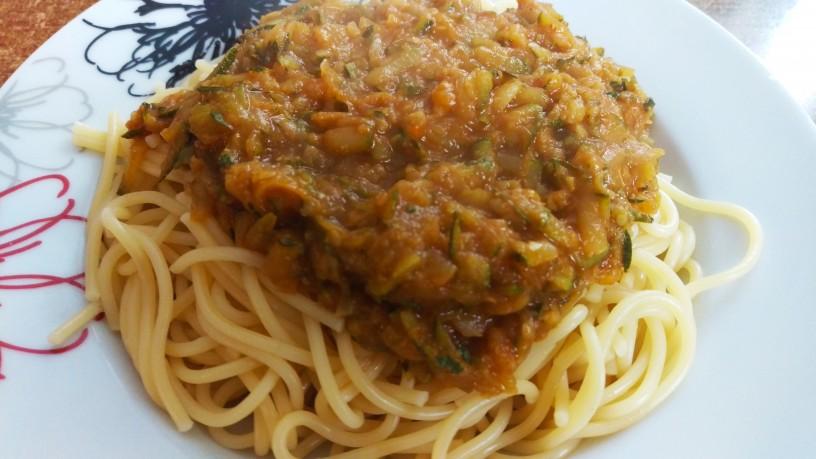 Bučkina omaka za testenine