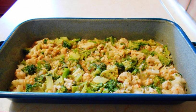 Cvetača in brokoli iz pečice