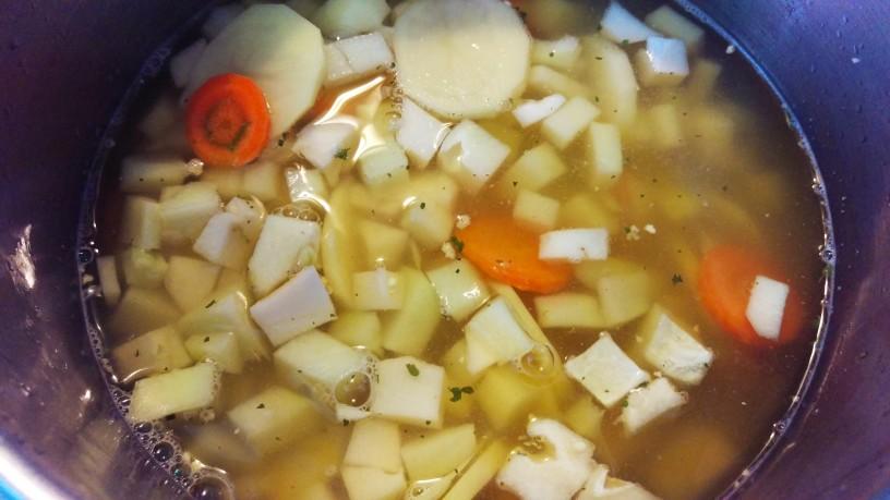 Kremna juha iz čajote 3