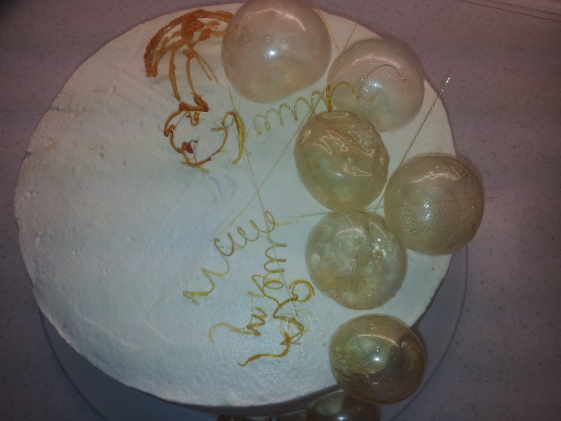 Mehurčkasti okraski za torto