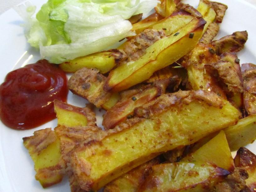 hrustljavi krompircek iz pecice