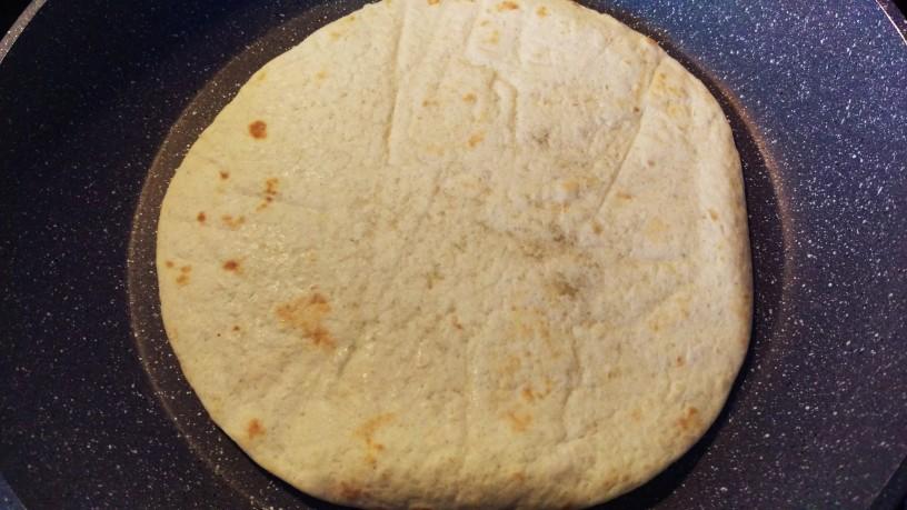 Zelenjavne tortilje s smetano 5
