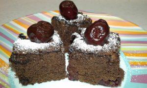 Čokoladno pecivo s češnjami