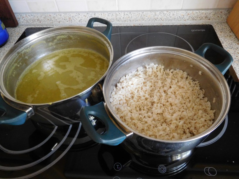 Najboljša grahova juha z rižem