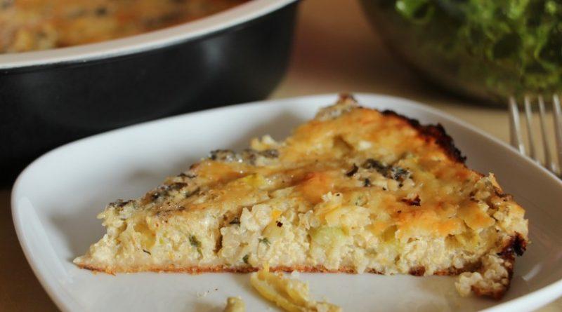 Kvinojina zelenjavna pita s hrustljavo podlago in mehko skorjico (14)