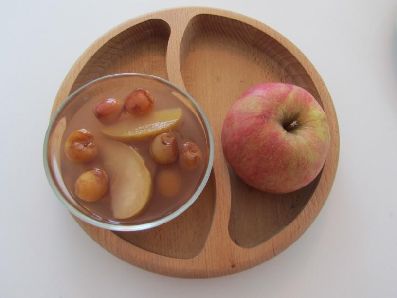 najenostavnejši kompot iz jabolk in češenj_9