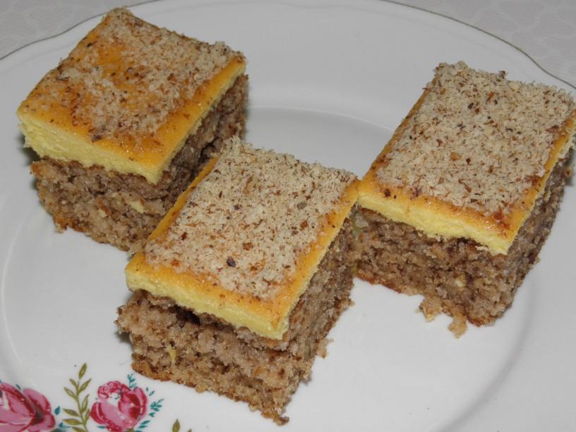Orehovo pecivo z marmelado