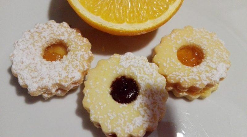 Linške rožice s pomarančo