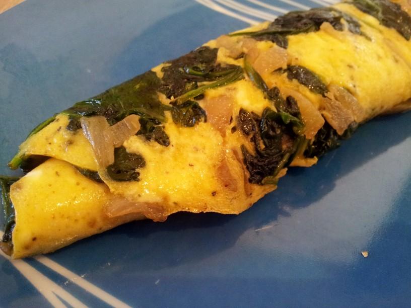 Omleta-s-spinaco