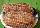 Kuhanje domače šunke