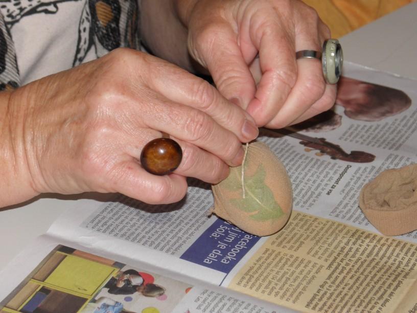 Barvanje jajčk na naraven način 1
