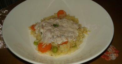 Rižota s tunino in zelenjavo na hitro