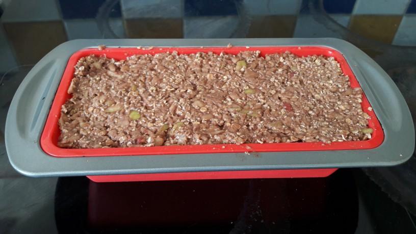 Jabolčne kocke s kakavom za zdrav zajtrk_8