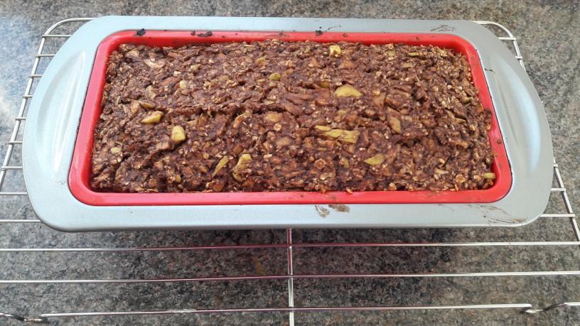 Jabolčne kocke s kakavom za zdrav zajtrk_9