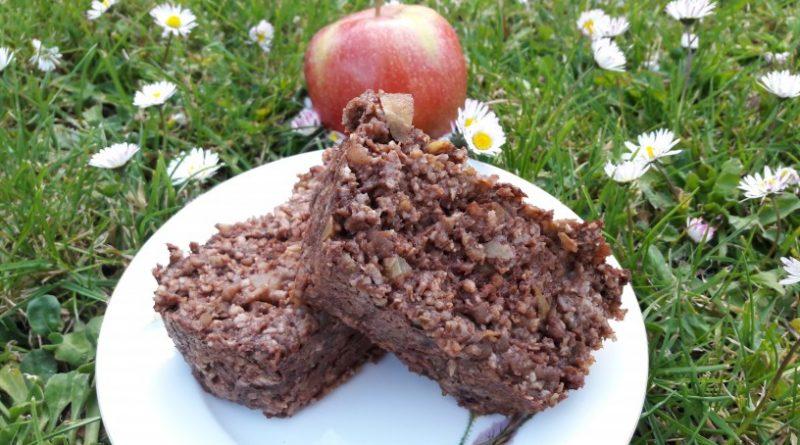 Jabolčne kocke s kakavom za zdrav zajtrk_13