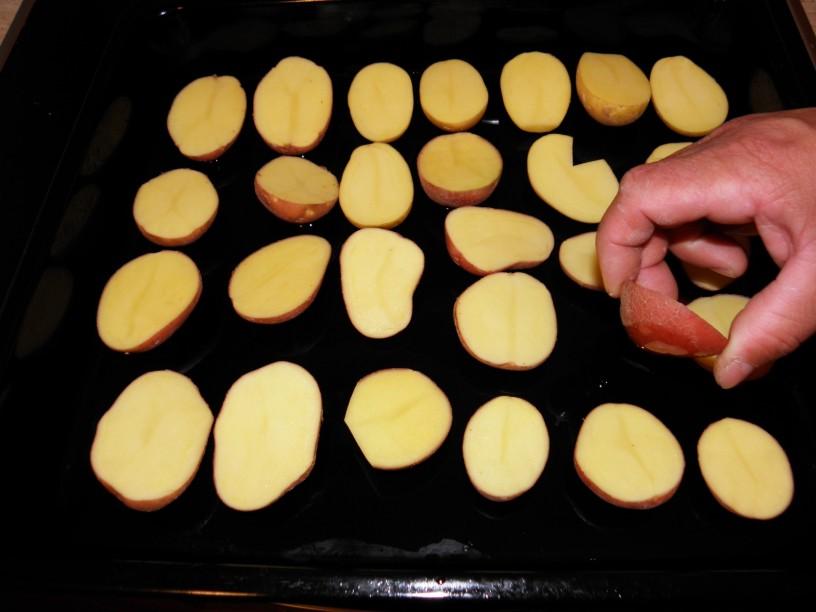 Pečen krompir s slanino 1