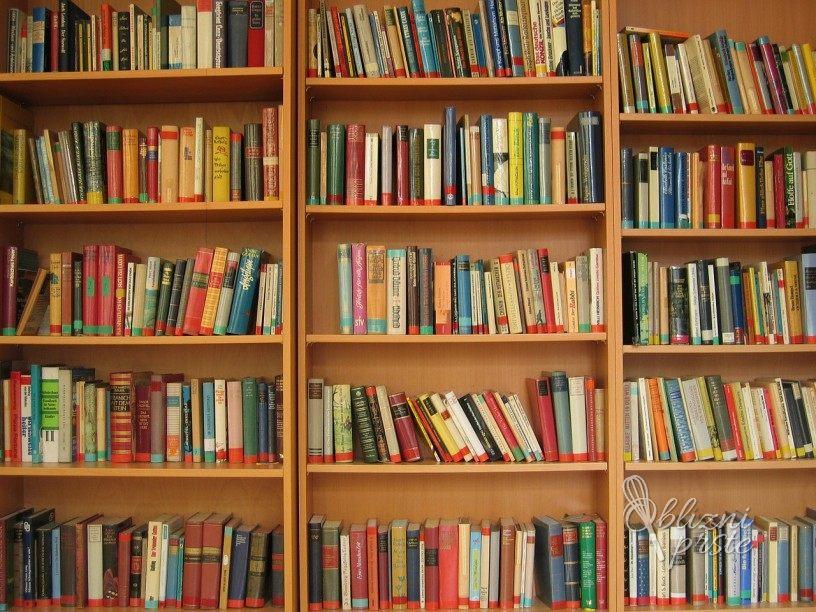 Knjižna polica izbranih knjig