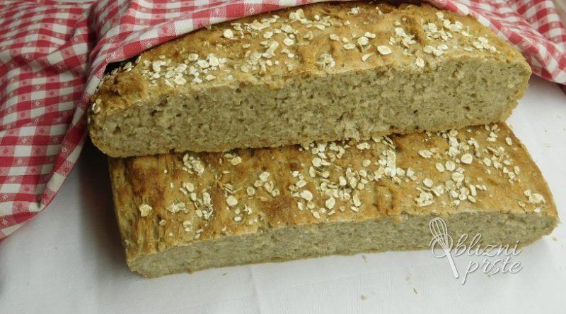Ovseni kruh s kvasno emulzijo