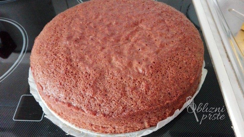 vanilijevo cokoladna torta