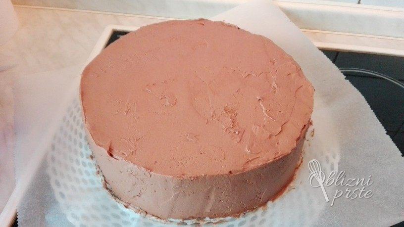 vanilijevo čokoladna torta
