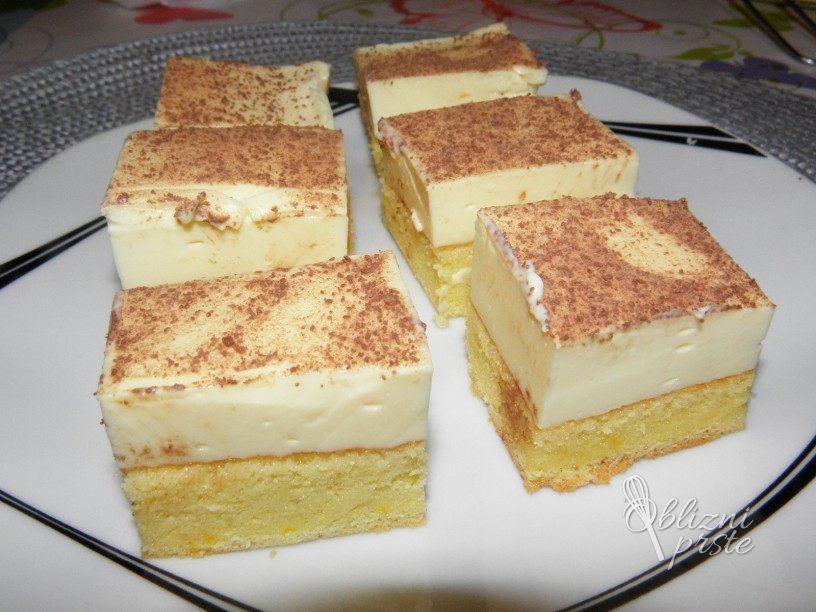 Vaniljevo puding pecivo