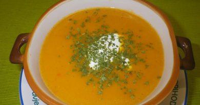 Kremna zelenjavna juha