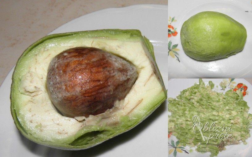 Umešana jajca z avokadom 1