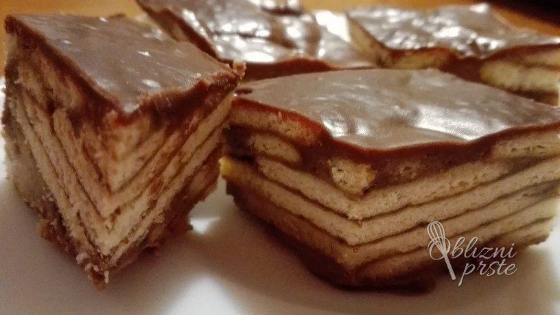 Čokoladna pita brez peke