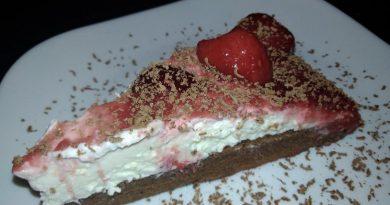 Hitra mascarpone torta z malo sladkorja
