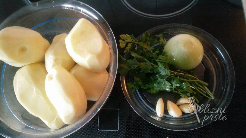 krompirjevi polpeti na hiter način
