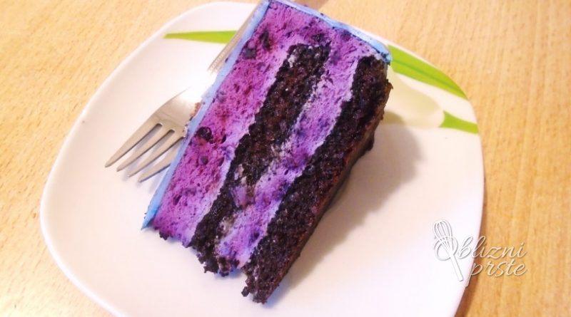 cokoladno-borovniceva-torta