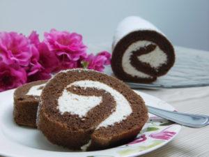 Čokoladno kokosova rolada