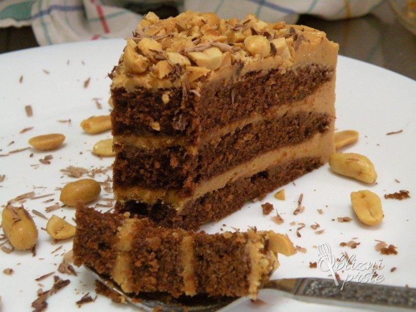 veganska-snikers-torta