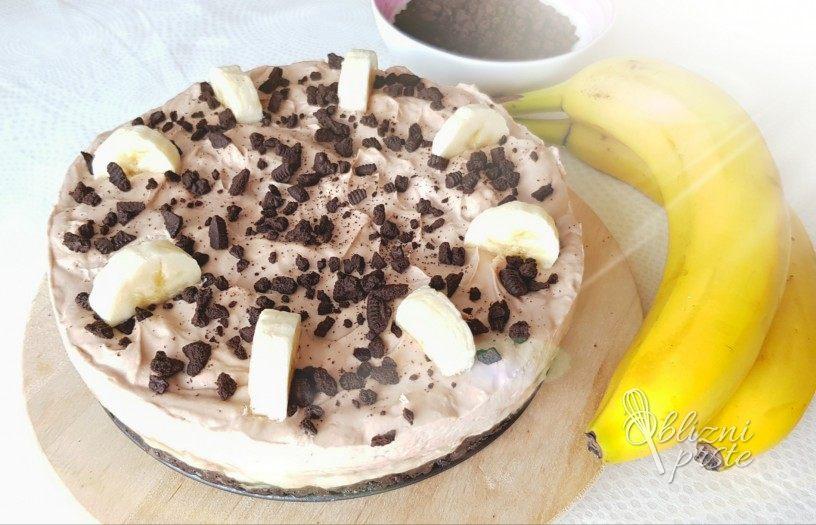 Banoreo torta - bez peke