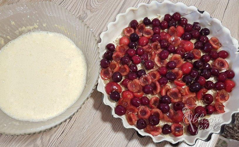 Švicarska češnjeva pita - wähe