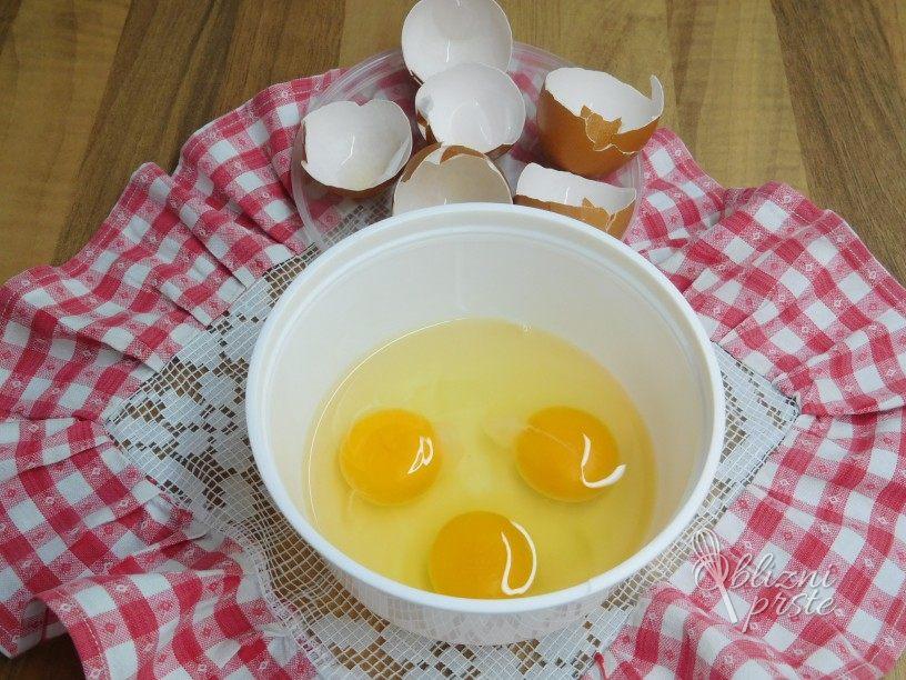 Shranjevanje domačih jajc - zamrzovanje