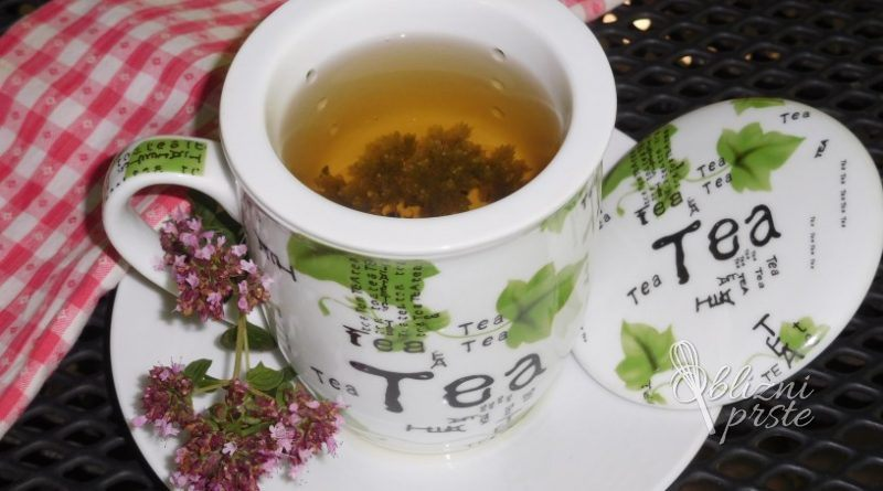 Dobra misel ali divji origano za čaj ali začimbo