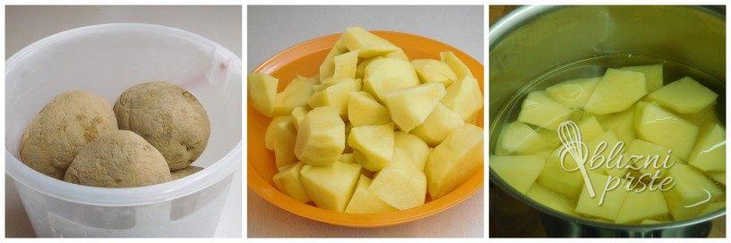 Pire krompir z rdečo peso