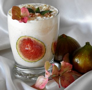jesenski smoothie s figami