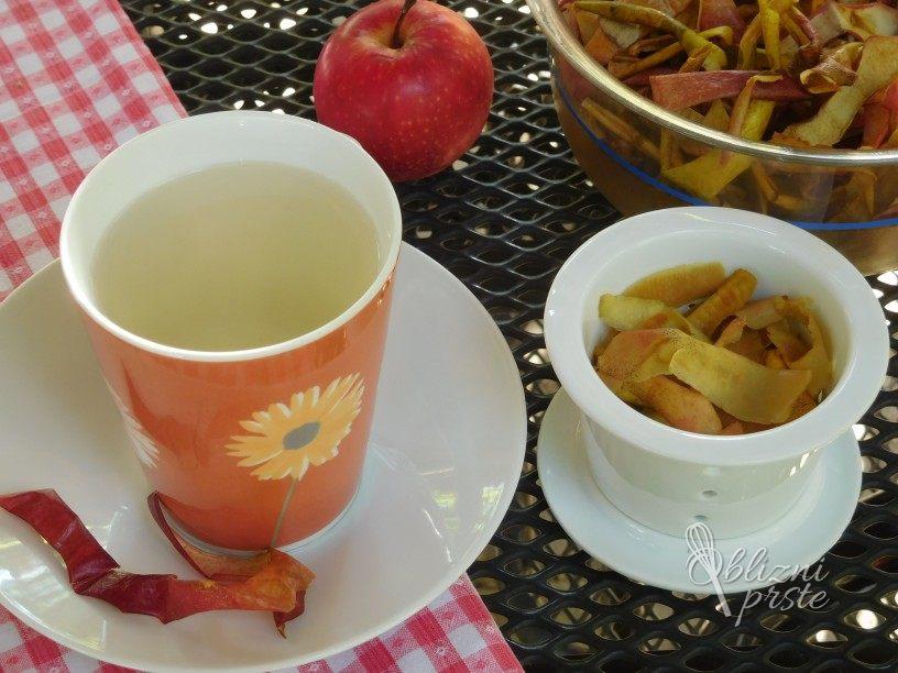 Čaj iz jabolčnih olupkov