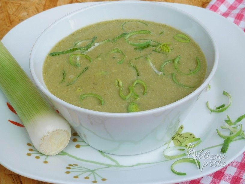 Porova kremna juha