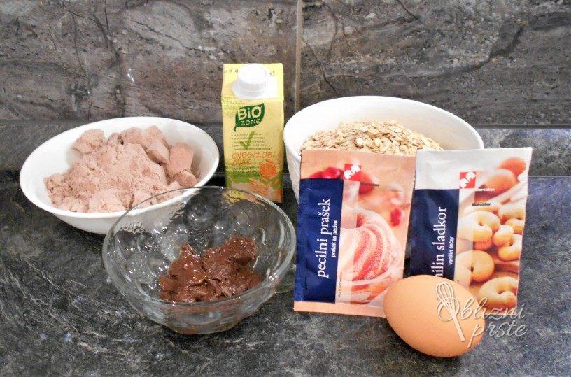 Čokoladno proteinski mafini